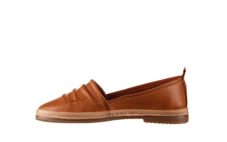 Półbuty bayla-190 515 772 taba-bej, brąz, skóra naturalna  - półbuty - buty damskie - kobieta 2