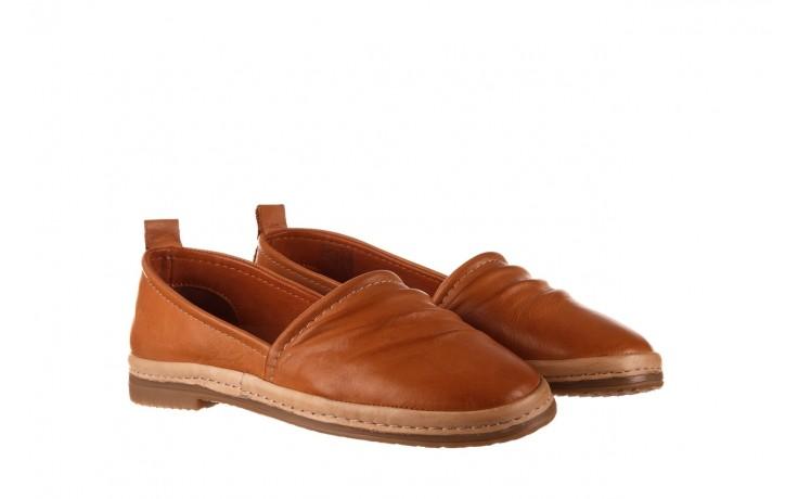 Półbuty bayla-190 515 772 taba-bej, brąz, skóra naturalna  - półbuty - buty damskie - kobieta 1