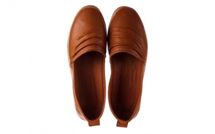 Półbuty bayla-190 515 772 taba-bej, brąz, skóra naturalna  - półbuty - buty damskie - kobieta 4