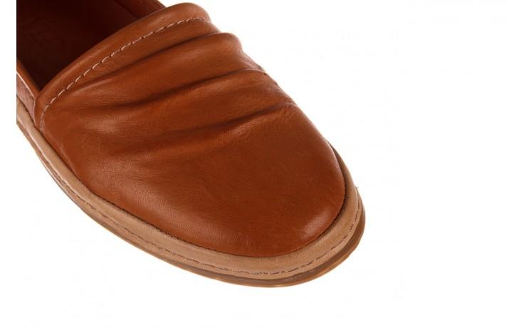 Półbuty bayla-190 515 772 taba-bej, brąz, skóra naturalna  - półbuty - buty damskie - kobieta 5