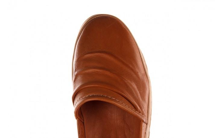 Półbuty bayla-190 515 772 taba-bej, brąz, skóra naturalna  - półbuty - buty damskie - kobieta 6