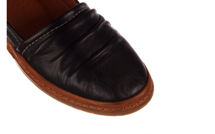 Półbuty bayla-190 515 772 siyah-taba, czarny, skóra naturalna  - skórzane - półbuty - buty damskie - kobieta 5