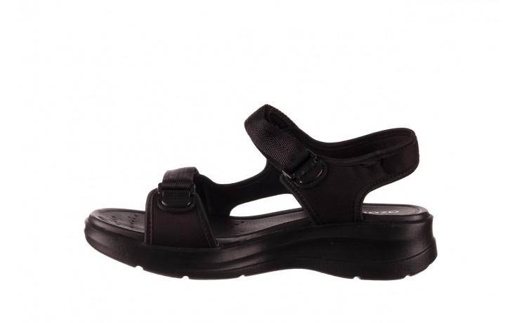 Sandały azaleia 330 560 black, czarny, materiał  - kobieta 2