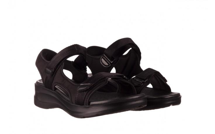 Sandały azaleia 330 560 black, czarny, materiał  - kobieta 1