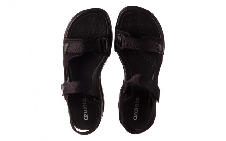 Sandały azaleia 330 560 black, czarny, materiał  - kobieta 4