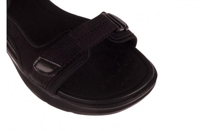 Sandały azaleia 330 560 black, czarny, materiał  - kobieta 5