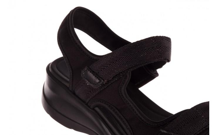 Sandały azaleia 330 560 black, czarny, materiał  - kobieta 6