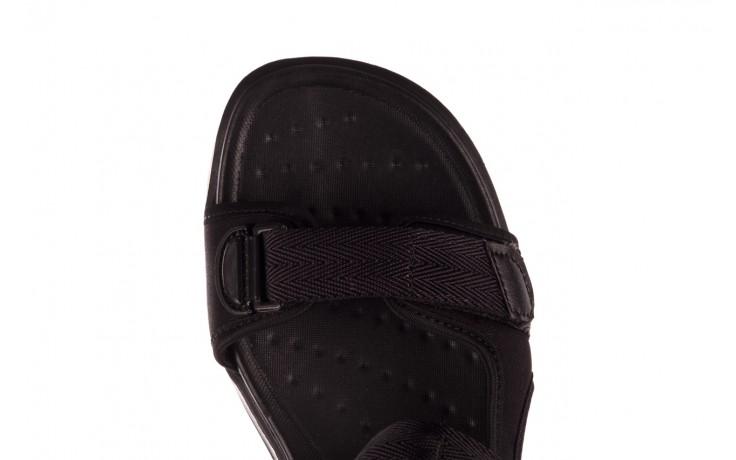Sandały azaleia 330 560 black, czarny, materiał  - kobieta 7