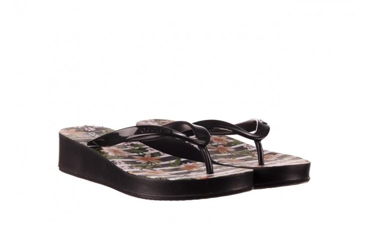 Klapki azaleia 239 464 black black, czarny, guma  - klapki - buty damskie - kobieta 1