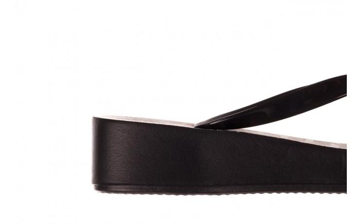 Klapki azaleia 239 464 black black, czarny, guma  - klapki - buty damskie - kobieta 8