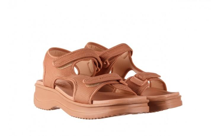 Sandały azaleia 320 323 nude 20, róż, materiał - płaskie - sandały - buty damskie - kobieta 1