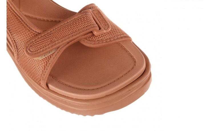 Sandały azaleia 320 323 nude 20, róż, materiał - płaskie - sandały - buty damskie - kobieta 5