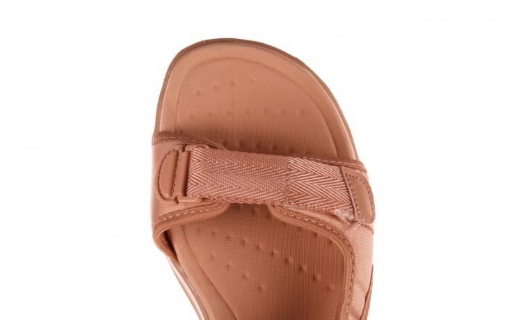 Sandały azaleia 330 560 nude, róż, materiał - płaskie - sandały - buty damskie - kobieta 7