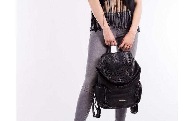 Plecak bayla-150 plecak s16-278 black, czarny, skóra ekologiczna  - akcesoria - kobieta 5