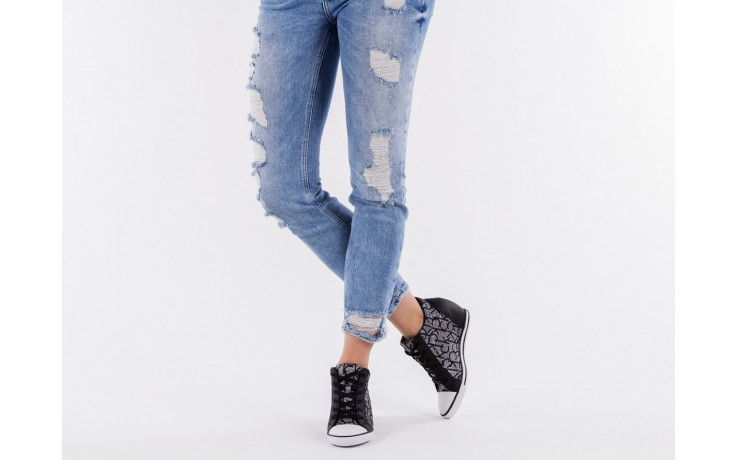 Calvin klein jeans vero jacquard silver-black - calvin klein jeans - nasze marki 6
