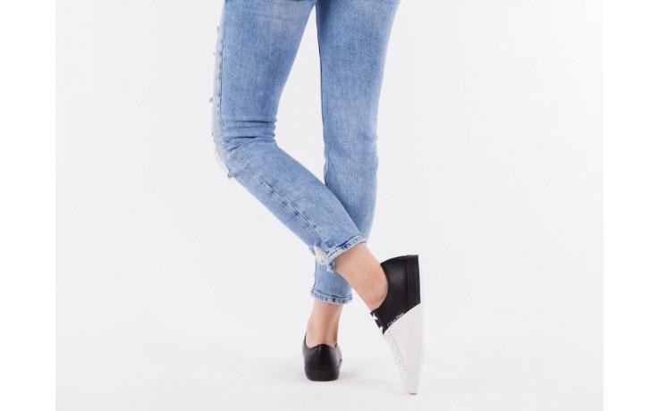 Calvin klein jeans wanda matte smooth black-white 3 - calvin klein jeans - nasze marki 6