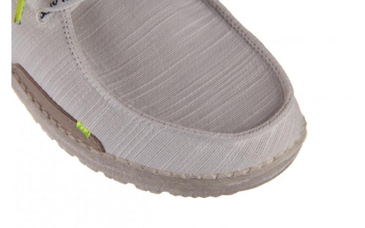 Półbuty heydude wendy star white, biały, materiał - sznurowane - półbuty - buty damskie - kobieta 5