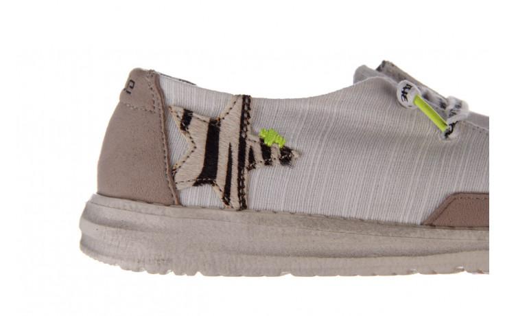 Półbuty heydude wendy star white, biały, materiał - sznurowane - półbuty - buty damskie - kobieta 7