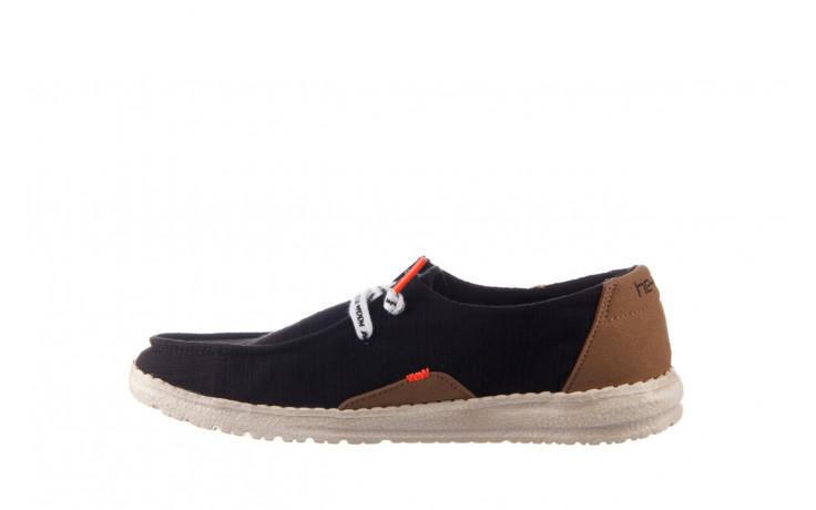 Półbuty heydude wendy star black, czarny, materiał - sznurowane - półbuty - buty damskie - kobieta 2
