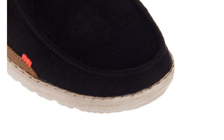 Półbuty heydude wendy star black, czarny, materiał - sznurowane - półbuty - buty damskie - kobieta 5