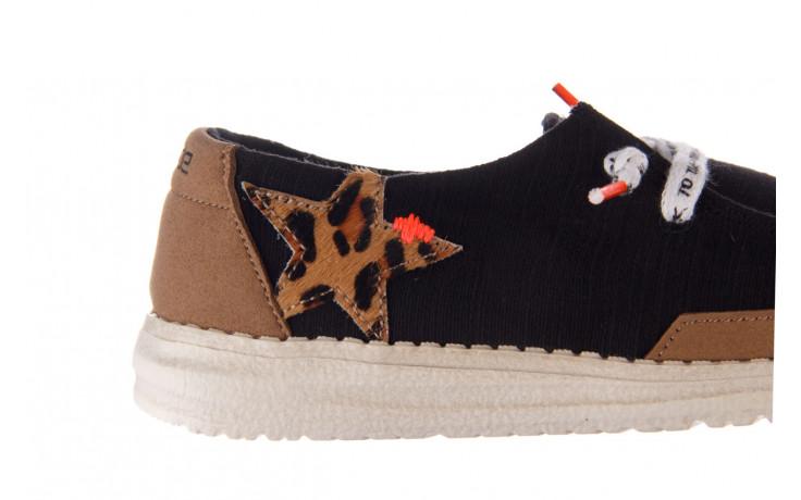 Półbuty heydude wendy star black, czarny, materiał - sznurowane - półbuty - buty damskie - kobieta 7