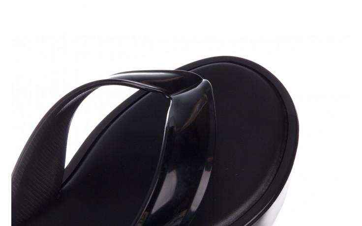 Klapki melissa beige ad black 010331, czarny, guma  - melissa - nasze marki 7