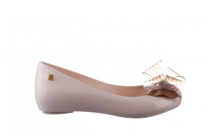 Baleriny melissa ultragirl sweet xviii ad beige gold 010327, beż, guma - baleriny - melissa - nasze marki