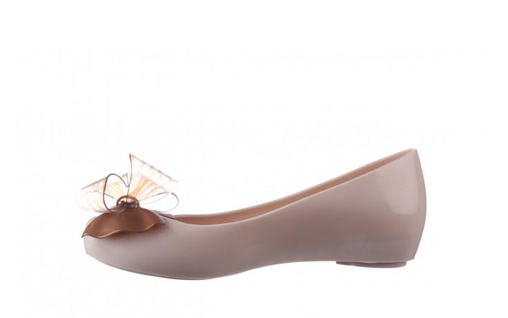 Baleriny melissa ultragirl sweet xviii ad beige gold 010327, beż, guma - baleriny - melissa - nasze marki 2