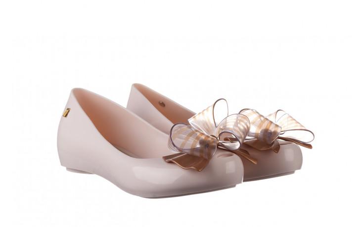 Baleriny melissa ultragirl sweet xviii ad beige gold 010327, beż, guma - baleriny - melissa - nasze marki 1