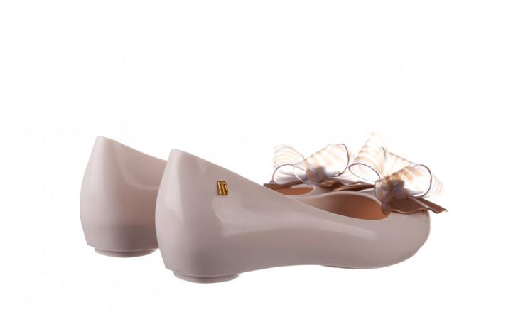 Baleriny melissa ultragirl sweet xviii ad beige gold 010327, beż, guma - baleriny - melissa - nasze marki 3