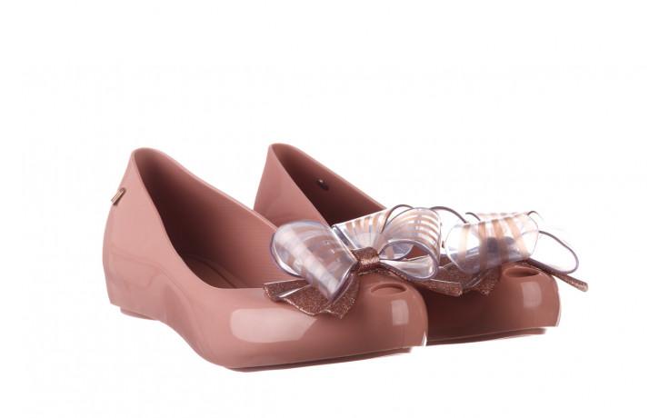 Baleriny melissa ultragirl sweet xviii ad pink pink glitter 010328, róż, guma - kobieta 1