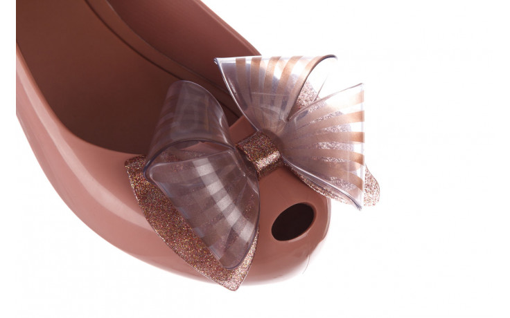 Baleriny melissa ultragirl sweet xviii ad pink pink glitter 010328, róż, guma - kobieta 5