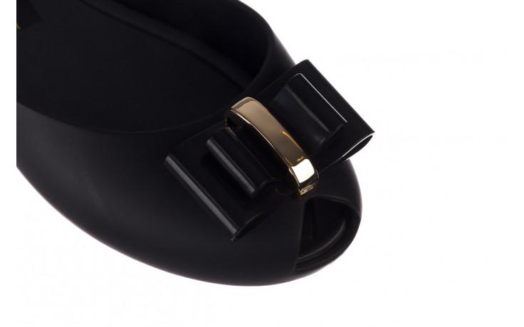 Baleriny melissa queen v ad black 20 010332, czarny, guma - kobieta 5