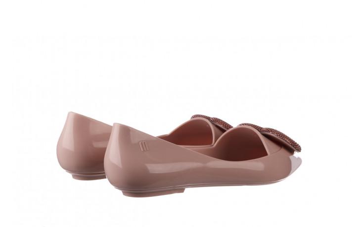 Baleriny melissa pointy heart ad soft pink 010329, róż, guma  - kobieta 3