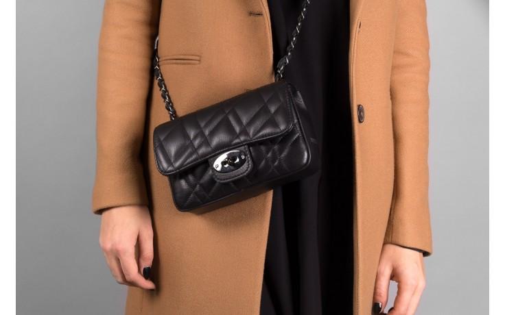 Torebka bayla-180 czarna torebka ze skóry mara - torebki - akcesoria - kobieta 2