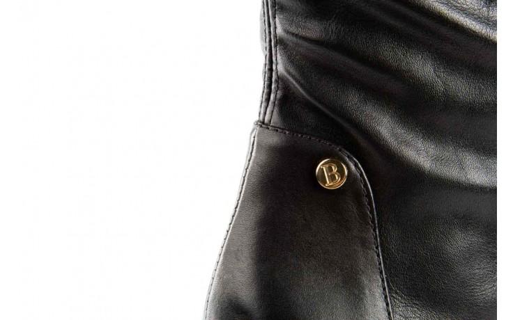 Kozaki bayla-067 118150 veg stre black noir, czarny, skóra naturalna - za kolano / muszkieterki - kozaki - buty damskie - kobieta 4