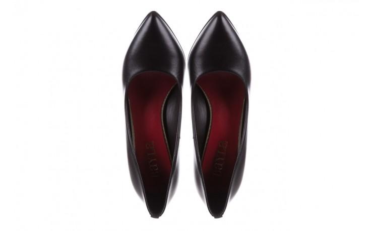 Czółenka bayla-056 1816-08 czarne 20, skóra naturalna  - szpilki - buty damskie - kobieta 4