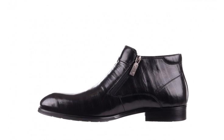 Trzewiki john doubare ygfr-z101-808-1 black, czarne, skóra naturalna - bayla exclusive - trendy - mężczyzna 2