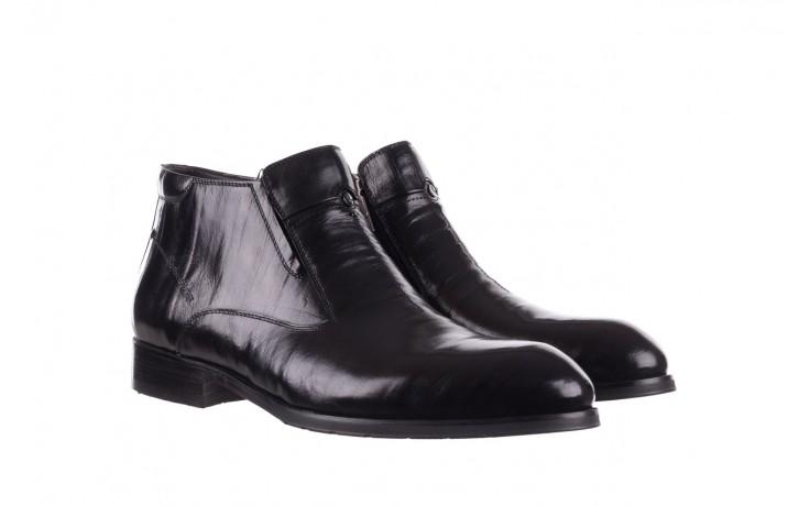 Trzewiki john doubare ygfr-z101-808-1 black, czarne, skóra naturalna - bayla exclusive - trendy - mężczyzna 1