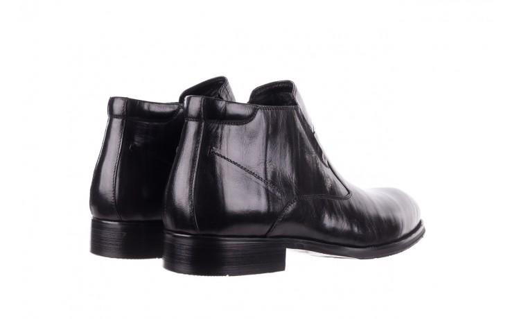 Trzewiki john doubare ygfr-z101-808-1 black, czarne, skóra naturalna - bayla exclusive - trendy - mężczyzna 3