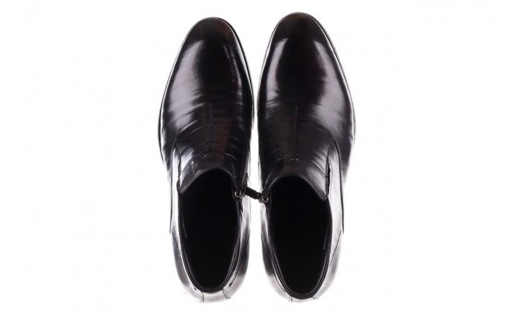 Trzewiki john doubare ygfr-z101-808-1 black, czarne, skóra naturalna - bayla exclusive - trendy - mężczyzna 4