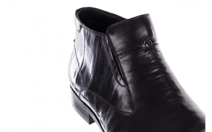 Trzewiki john doubare ygfr-z101-808-1 black, czarne, skóra naturalna - bayla exclusive - trendy - mężczyzna 5