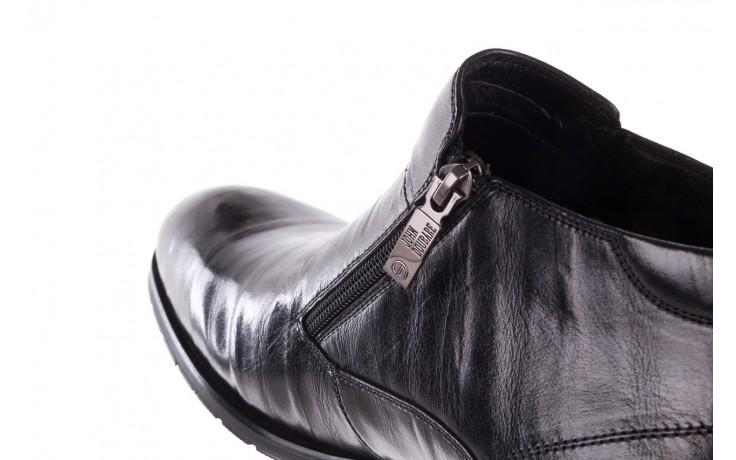 Trzewiki john doubare ygfr-z101-808-1 black, czarne, skóra naturalna - bayla exclusive - trendy - mężczyzna 7