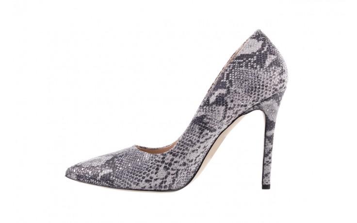 Szpilki bayla-097 14 srebrny wąż, skóra naturalna - do szpica - szpilki - buty damskie - kobieta 2