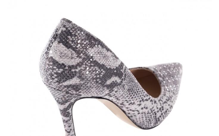 Szpilki bayla-097 14 srebrny wąż, skóra naturalna - do szpica - szpilki - buty damskie - kobieta 5