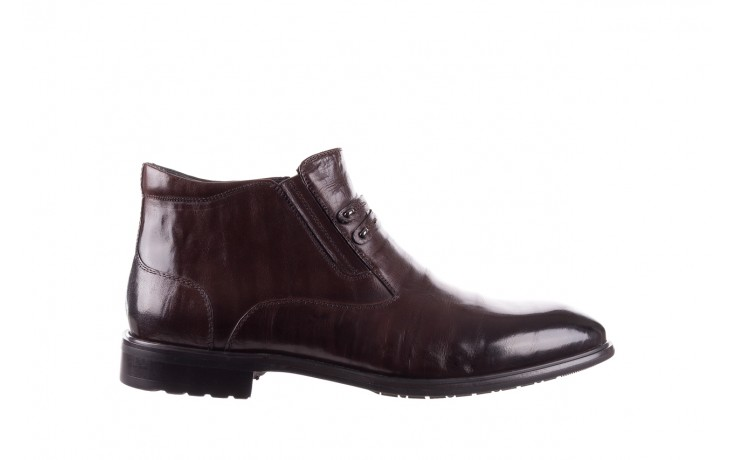 Półbuty john doubare ygfr-z102-310-1 brown, brązowe, skóra naturalna - sale - buty męskie - mężczyzna
