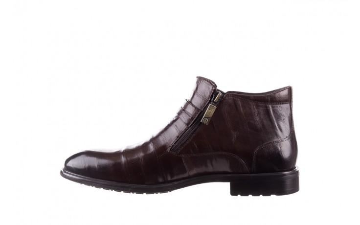Półbuty john doubare ygfr-z102-310-1 brown, brązowe, skóra naturalna - sale - buty męskie - mężczyzna 2