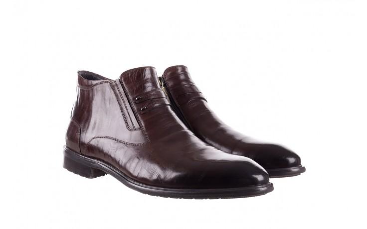 Półbuty john doubare ygfr-z102-310-1 brown, brązowe, skóra naturalna - bayla exclusive - trendy - mężczyzna 1
