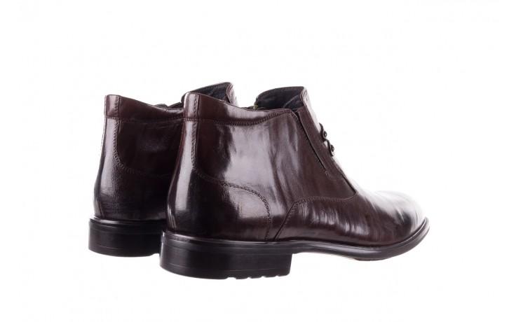 Półbuty john doubare ygfr-z102-310-1 brown, brązowe, skóra naturalna - sale - buty męskie - mężczyzna 3