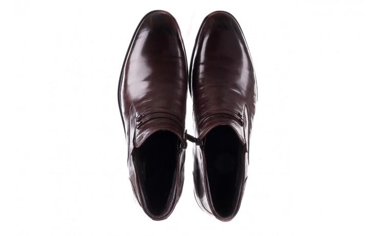 Półbuty john doubare ygfr-z102-310-1 brown, brązowe, skóra naturalna - bayla exclusive - trendy - mężczyzna 4